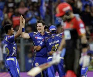 आखिरकार मुंबई को मिल गई पहली जीत, रोहित की विस्फोटक पारी की बदौलत बैंगलोर 46 रन से हारा