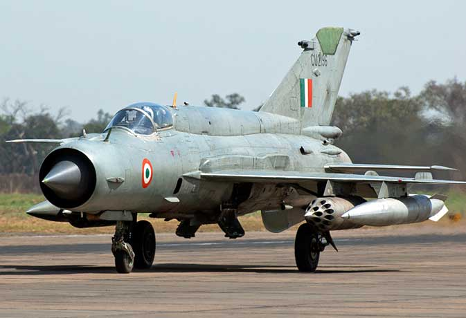 क्रैश हुआ एयरफोर्स का मिग-27 विमान, दो लोगों की मौत