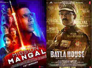 Weekend Box Office collection: 'मिशन मंगल' और 'बाटला हाउस' दोनों ही फिल्मों ने कमाई में दिखाया दम