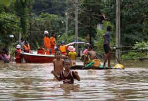 म्यांमार में बाढ़ का कहर, 10 की मौत और लाखों लोग लापता