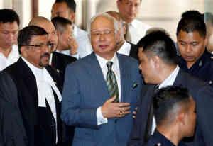 पूर्व मलेशियाई पीएम नजीब रजाक पर भ्रष्टाचार के मामले में लगे 21 नए चार्जेज
