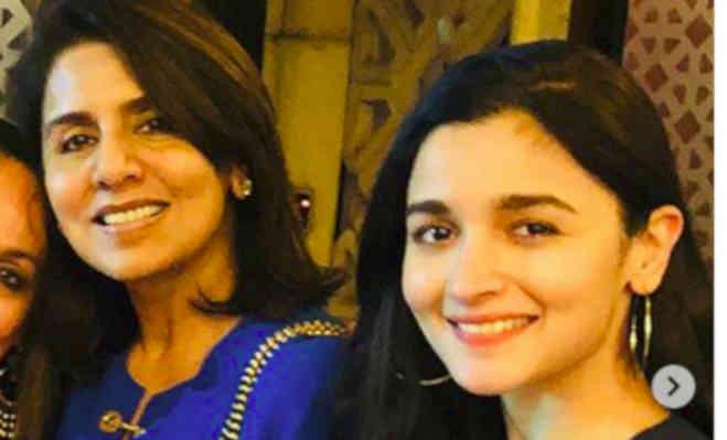 फ्यूचर 'सासू मां' नीतू कपूर के साथ रिश्ते हैं प्राइवेट मैटर: आलिया भट्ट