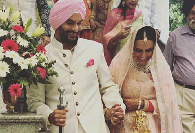 नेहा धूपिया पति अंगद बेदी संग रिसेप्शन की तैयारियों में जुटीं, जानें दोनों कि शादी से जुडी़ ये 10 अंजानी बातें