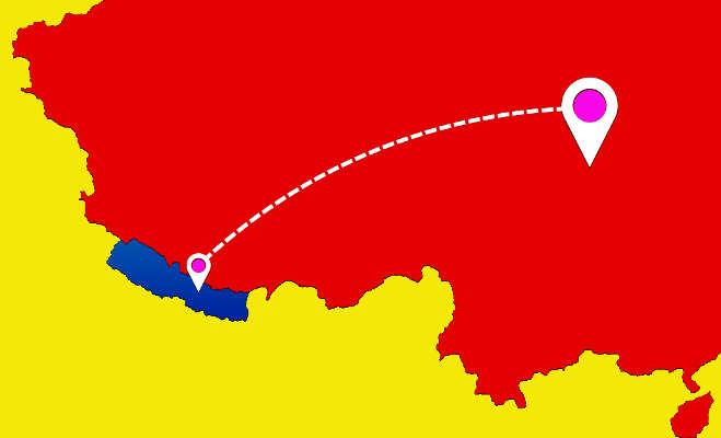 नेपाल ने अपने इंटरनेट का तार भारत से काटकर चीन से जोड़ा