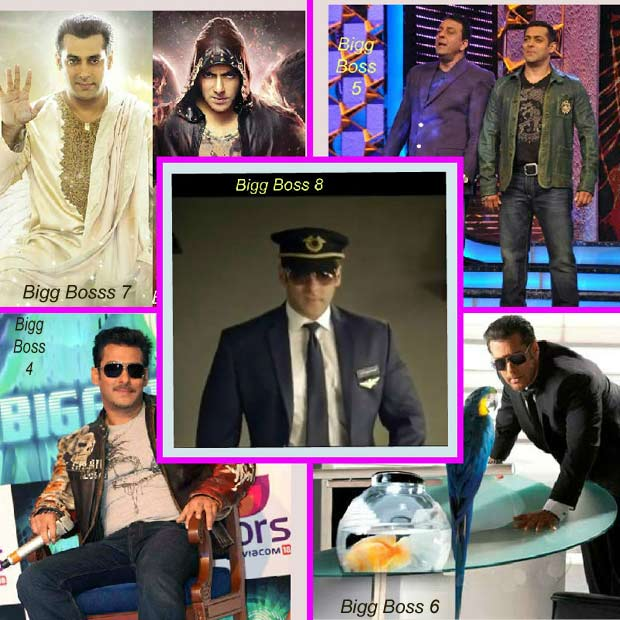 Salman Bigg Boss looks