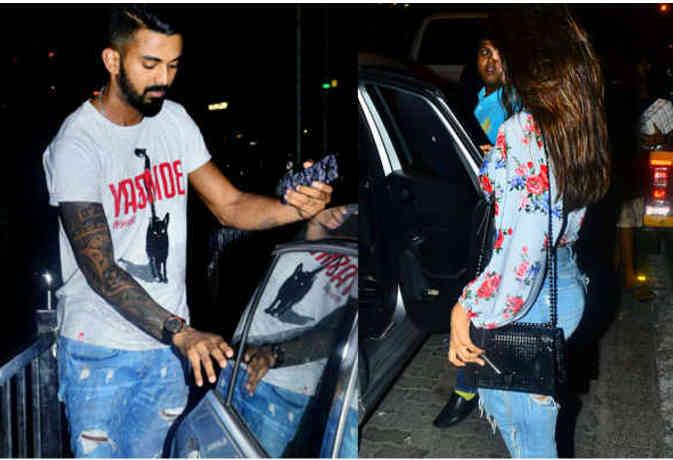 जिसे कहा जा रहा था केएल राहुल की गर्लफ्रेंड, वो तो उनकी 'बहन' निकली