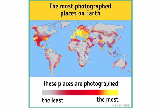 भूगोल कै मैप्स इतने मजेदार तो कभी न थे,दिल खुश कर देंगे ये 8 नक्शे