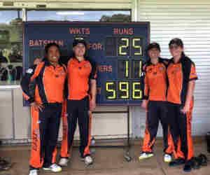 नहीं देखा होगा ऐसा वनडे मैच, जहां एक टीम ने बनाए 596 रन तो दूसरी 25 रन पर ढेर