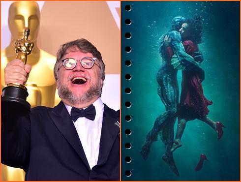 Oscar 2018 में शेप ऑफ वॉटर मूवी के साथ कुछ यूं चमके दुनिया के फिल्मी सितारे