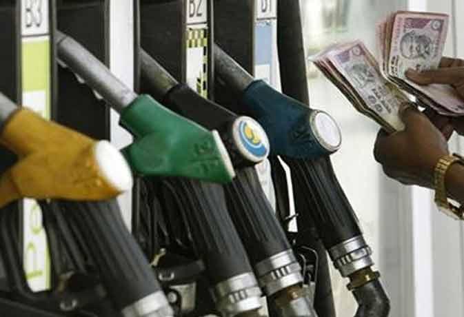 डीजल व पेट्रोल के बढ़े दाम, नई कीमतें आज रात से हुई लागू