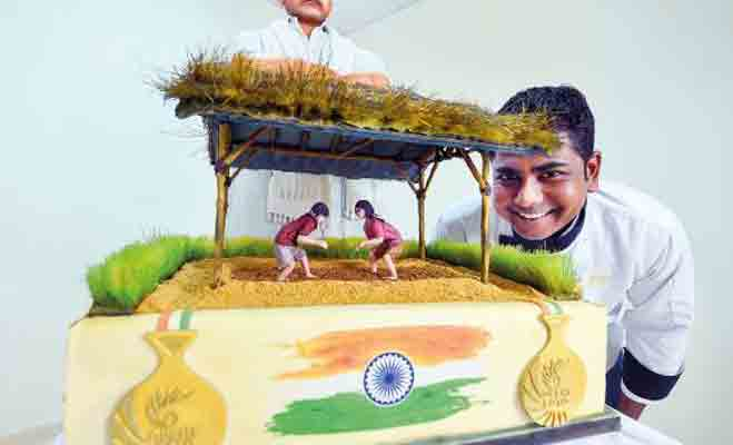 दुनिया में सबसे बड़ा! दुबई में केक का अखाड़ा और आमिर खान का दंगल