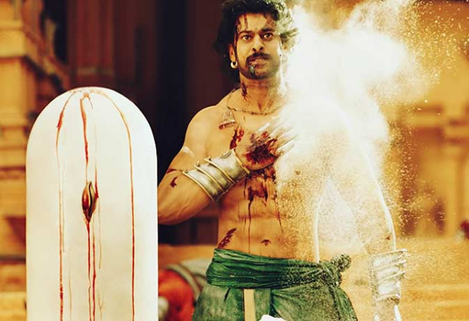 बाहुबली शूटिंग के दौरान प्रभास को लगी चोट के निशान जिंदगीभर रहेंगे