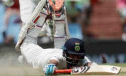 टेस्ट मैच की दोनों पारियों में रन आउट होने वाले पहले भारतीय खिलाड़ी बने पुजारा