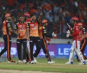 हैदराबाद के गेंदबाजों के आगे पंजाबी बल्लेबाज फेल, SRH ने KXIP को दी 13 रन से मात