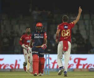 IPL 2018 : नहीं बदल रही दिल्ली की किस्मत, पंजाब ने 4 रन से हराया और निचले पायदान पर पहुंचाया
