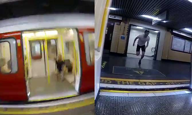 मेट्रो ट्रेन से भी तेज दौड़ता है यह लड़का, यकीन नहीं तो खुद देखिए