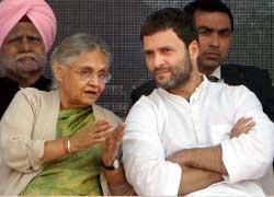 शीला की अपील, 'राहुल की आवाज सुनें' पर लोग उठे और जाने लगे