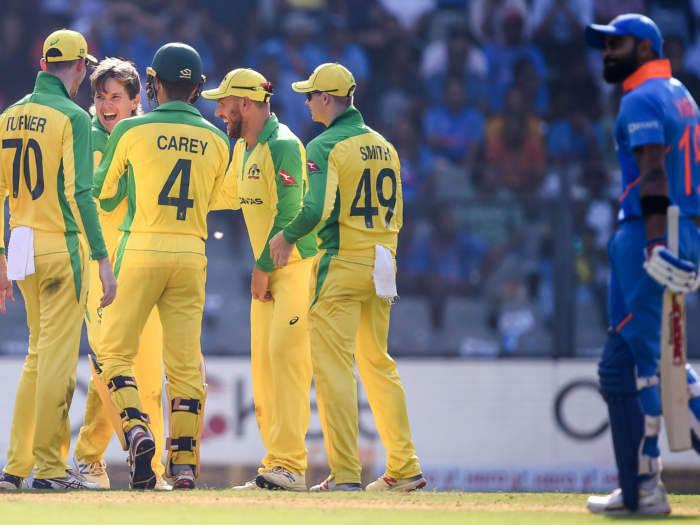 india vs australia 2nd odi ground record: राजकोट में आज तक वनडे नहीं जीती है टीम इंडिया