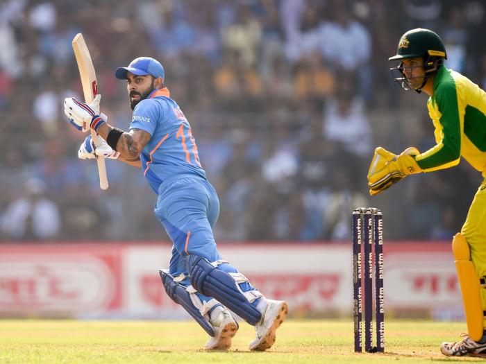 india vs australia 2nd odi live match report: जोरदार मुकाबले में 36 रन से जीता भारत