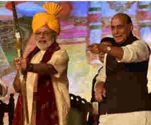 राजनाथ सिंह बोले, राजीव गांधी की तरह हो रही पीएम मोदी की हत्या की साजिश,  सरकार गंभीर