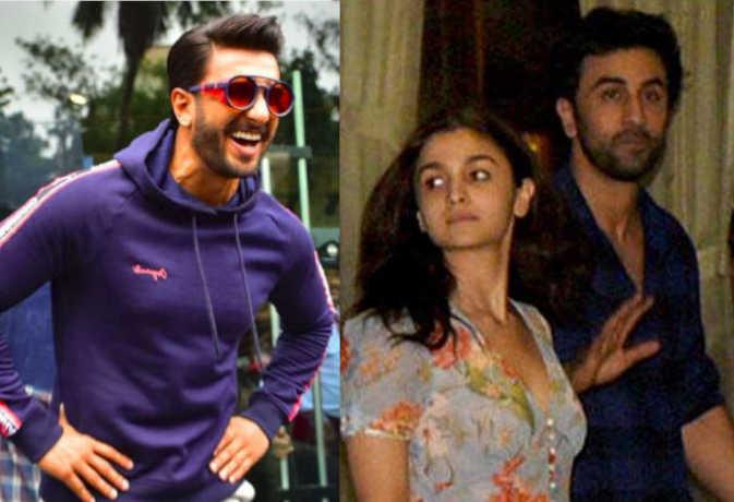 रणवीर सिंह ने आलिया की खीची टांग, ब्वाॅयफ्रेंड रणबीर संग एक्ट्रेस का ऐसे बनाया मजाक