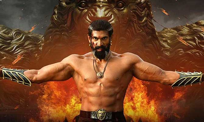 Image result for bhallaladeva in bahubali pic