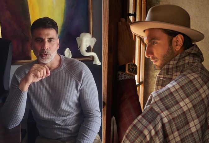 अक्षय कुमार ने रणवीर सिंह के लिए फैंस के बीच कह दी ऐसी बात, सुनकर चौंक गए 'सिंबा' स्टार