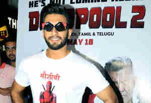 'डेडपूल' सुपरहीरो के साथ रणवीर सिंह दिखे एक्शन मोड में, 'डेडपूल 2' से है ये खास कनेक्शन