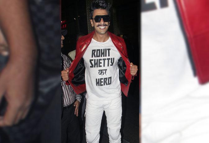 रोहित शेट्टी का हीरो लौटा मुंबई,देखें तस्वीरें