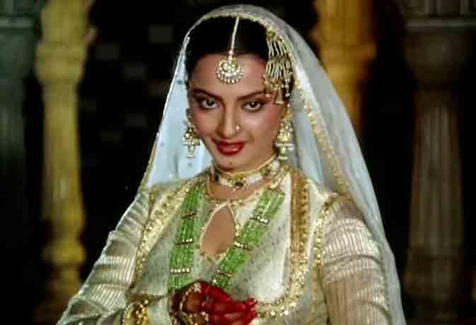 तेलुगू की भानुरेखा हो गई हिंदी फिल्मों की 'उमराव जान'