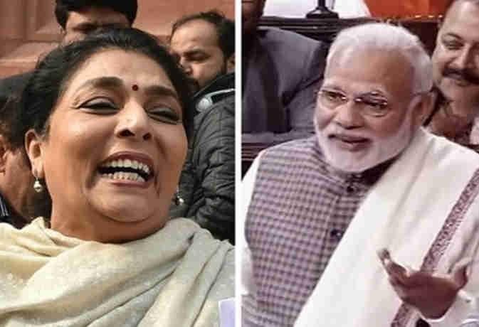 मह द वhd: महिला नेता के ठहाकों हाहाहा...पर PM ने कसा तंज, पहले भी