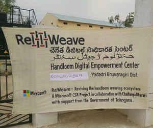 तेलंगाना के बुनकरों के लिए माइक्रोसाॅफ्ट ने लांच किया र्इ-काॅमर्स पोर्टल