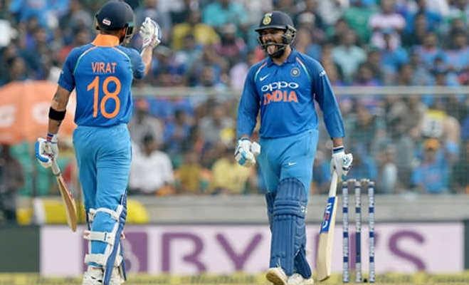 कोहली घर पर बैठे देखते रहे रोहित शर्मा ने तोड़ दिया उनका रिकॉर्ड,बन गए नंबर 1