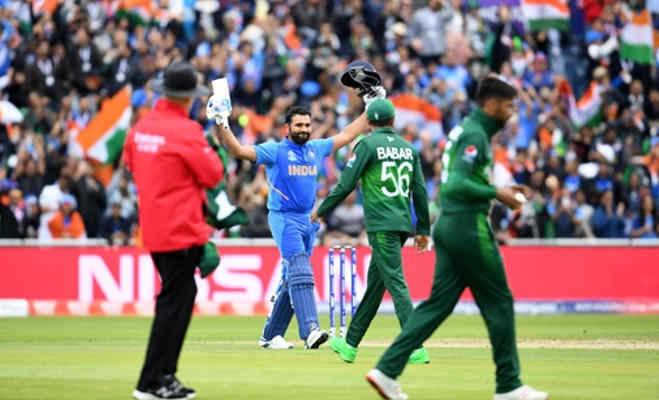 icc world cup 2019 : रोहित ने उस पाक गेंदबाज को सबसे ज्यादा पीटा,जिसने बाॅर्डर पर भारत को दिखाई थी आंख