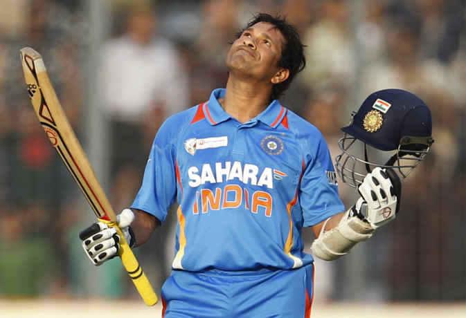सचिन तेंदुलकर को पहला वनडे शतक मारने के लिए 78 मैच खेलने पड़े