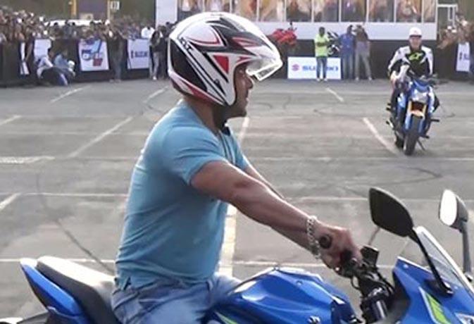 भारत के लिए बाइक पर करतब करेंगे सलमान