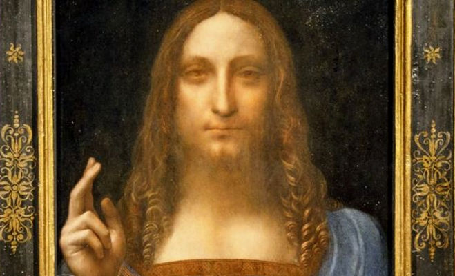 लियानार्डो दा विंची की पेंटिंग,क़ीमत 2900 करोड़ रुपये,पता अबू धाबी म्यूज़ियम