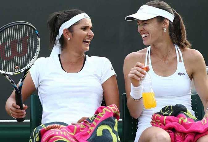 Wimbledon 2015 : शान के साथ सेमीफाइनल में पहुंची सानिया-हिंगिस की जोड़ी