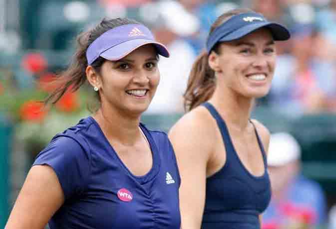 मेड्रिड ओपन के डबल्स में जीत के करीब सानिया-मार्टिना