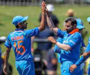 मोहम्मद शमी बने वनडे में सबसे तेज 100 विकेट लेने वाले भारतीय गेंदबाज
