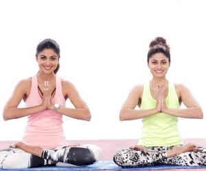 International Yoga Day: देखें बॉलीवुड की फिटनेस आइकन शिल्पा, मलाइका और बिपाशा ने कैसे बिताया ये दिन