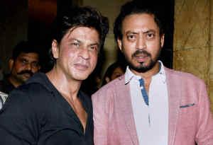 गंभीर बीमारी से जूझ रहे इरफान खान के घर उनका हाल जानने पहंचे शाहरुख खान
