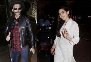 तस्वीरें : सिंबा को स्टार रणवीर सिंह के साथ देर रात घर लौटीं सारा घूम रही थीं यहां