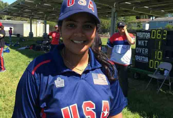 भारत की सिंधुजा खेलेंगी अमेरिका के लिए क्रिकेट