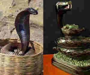 सपेरे गायब धातु के नाग-नागिन की बढ़ी डिमांड, नाग पंचमी पर इस योग मे पूजा से दूर होंगे दोष