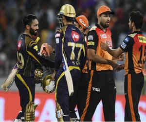 IPL 2018 : 54वें मुकाबले में  KKR ने SRH को  5 विकेट से हराया