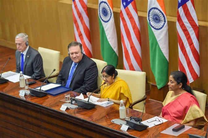 यूएस-इंडिया 2+2 वार्ता : दोनों देशों के बीच हुई बातचीत के बाद भारत को ये हुए फायदे