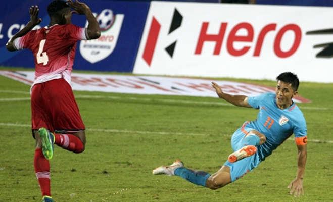 इस फुटबॉलर की एक अपील पर मैच देखने पहुंचे 18 हजार दर्शक,भारत ने केन्या को हराया