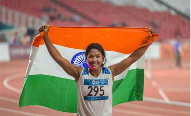 रिक्शाचलाने वाले की बेटी स्वप्ना बर्मन एशियन गेम्स में जीत लाई गोल्ड