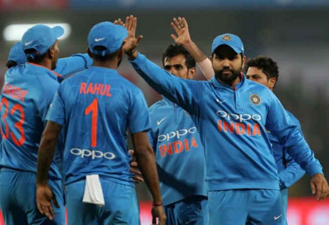 श्रीलंका के खिलाफ सीरीज जीतने के बाद आईसीसी टी-20 रैंकिंग में टीम इंडिया दूसरे स्थान पर